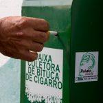 reciclagem de bitucas de cigarro