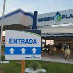 Imagem da fachada da unidade industrial da GreenPlac, em Água Clara (MS), empresa de José Roberto Colnaghi, da Asperbras