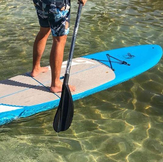Imagem ilustrativa da prancha de stand up paddle Supsurf, produzida pela Asperbras Rotomoldagem, de José Roberto Colnaghi, da Asperbras