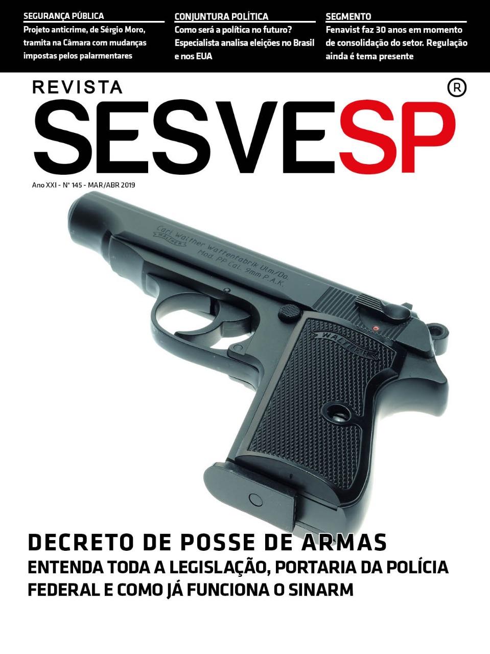 Edição 145 da Revista Sesvesp,