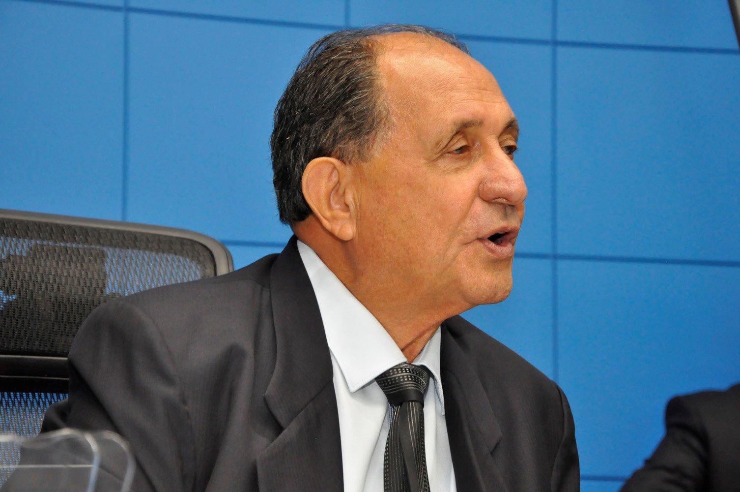Deputado Zé Teixeira, autor do projeto de Lei que dá à Água Clara o título de Capital Estadual do MDF