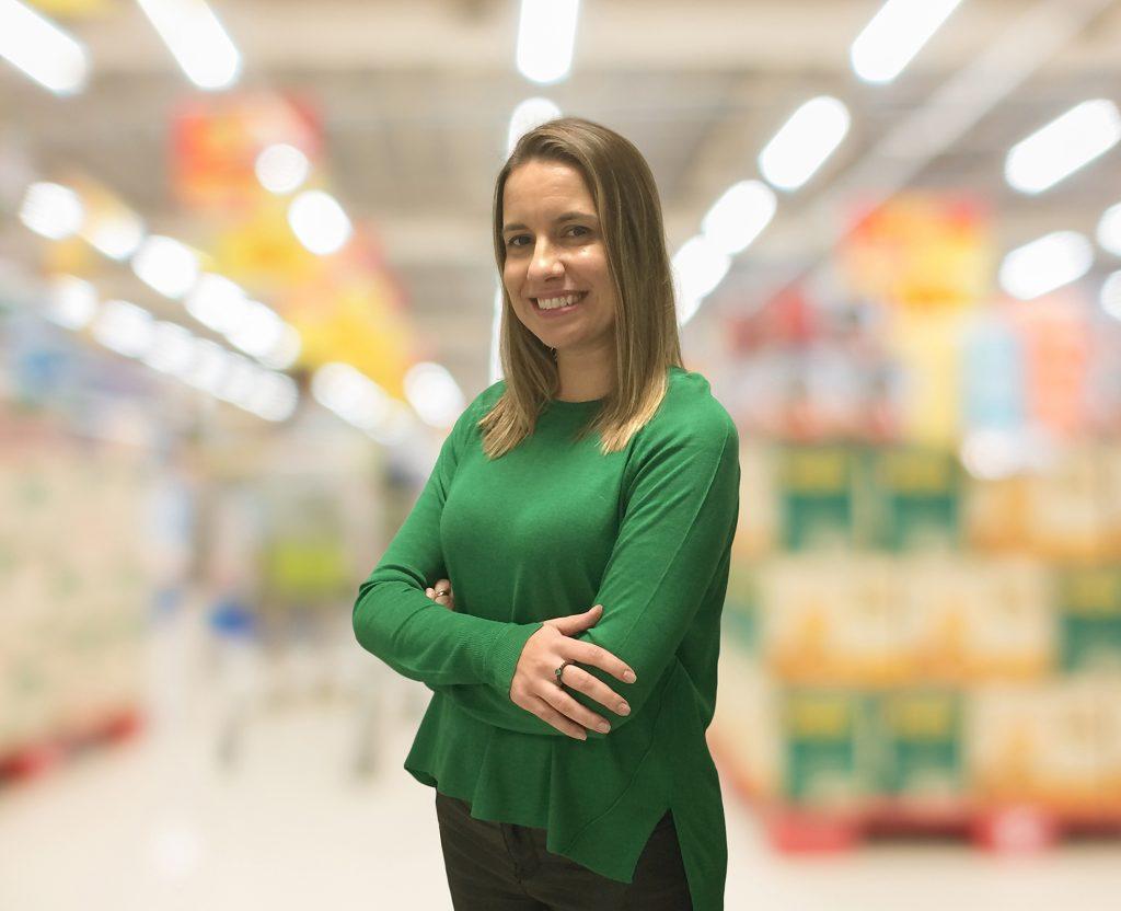 Fabiana Mourão, Head de Marketing da Lopes Supermercados. Foto: Divulgação.