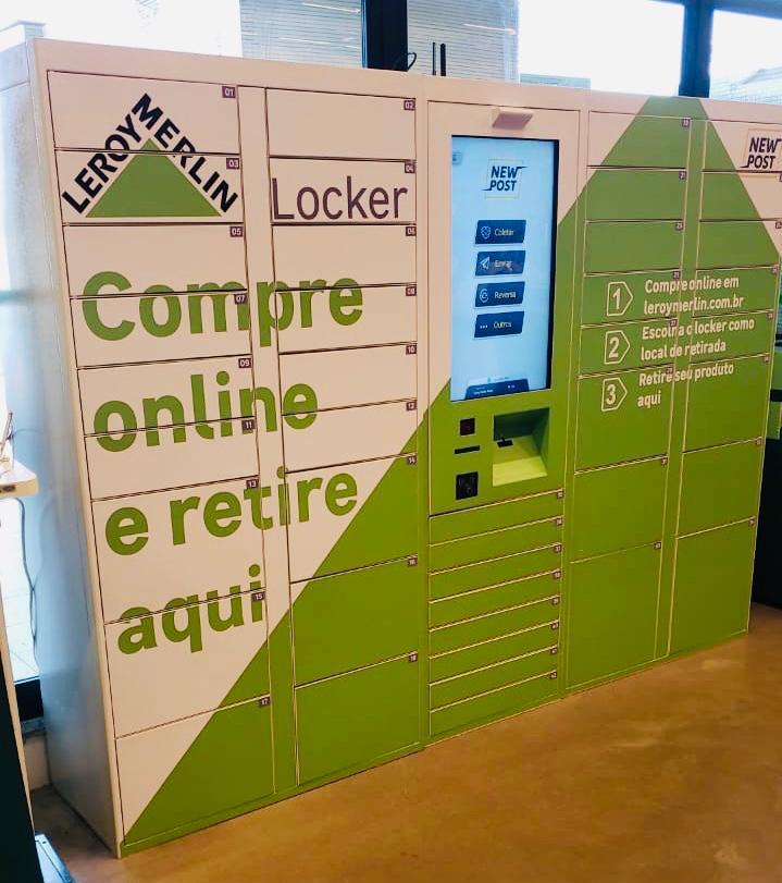 Locker Clique e Retire da loja Leroy Merlin Curitiba Atuba