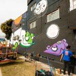 West Side Gallery Itapevi, patrocinada pela rede Lopes Supermercados.