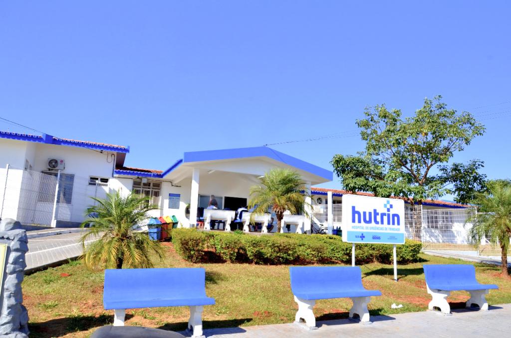 HUTRIN (Hospital Estadual de Urgências de Trindade Walda Ferreira dos Santos) em Trindade (GO)