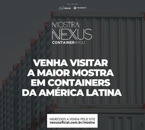 GreenPlac é patrocinadora da Nexus Mostra Container