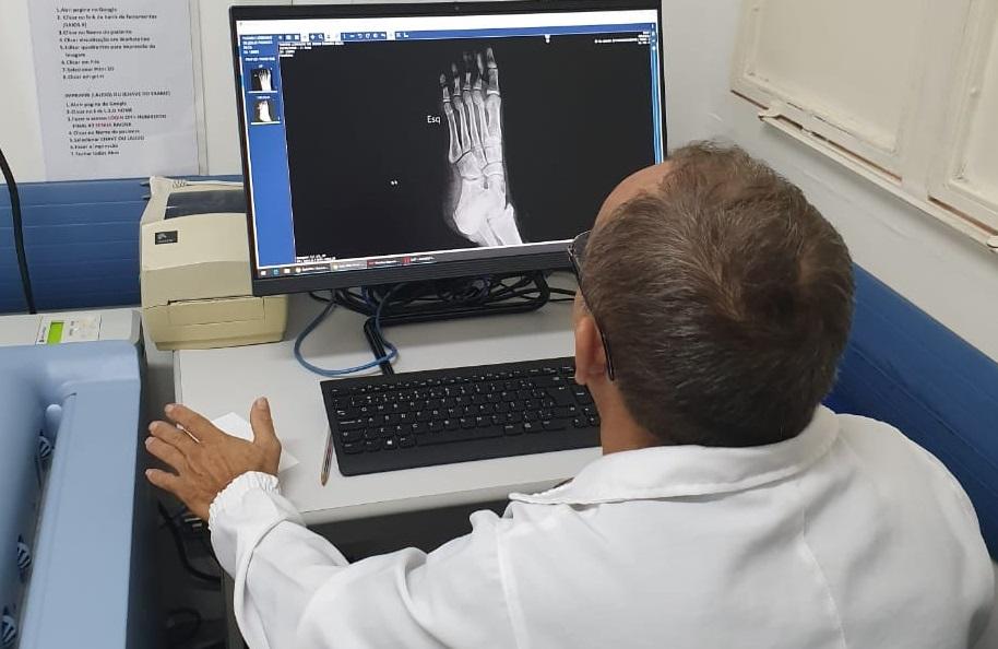 Raio X digital chegou no Hutrin para melhorar o diagnóstico por imagem
