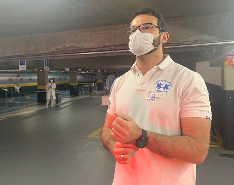 Presidente da Hebraica, Daniel Leon Bialski, anuncia nova etapa de vacinação contra H1N1