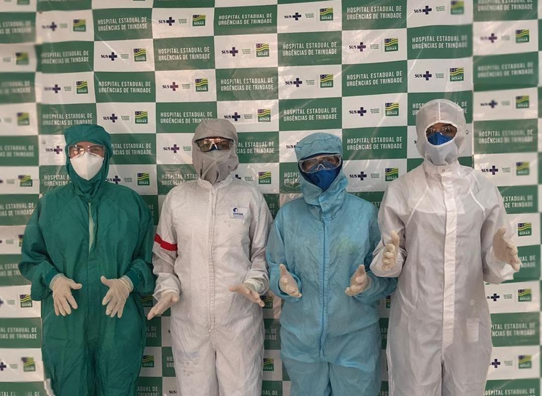 Hutrin recebe novos EPIs para proteger equipe no atendimento a infectados