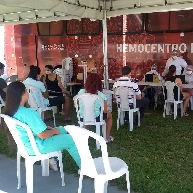 Campanha de doação de sangue do Hutrin supera expectativa