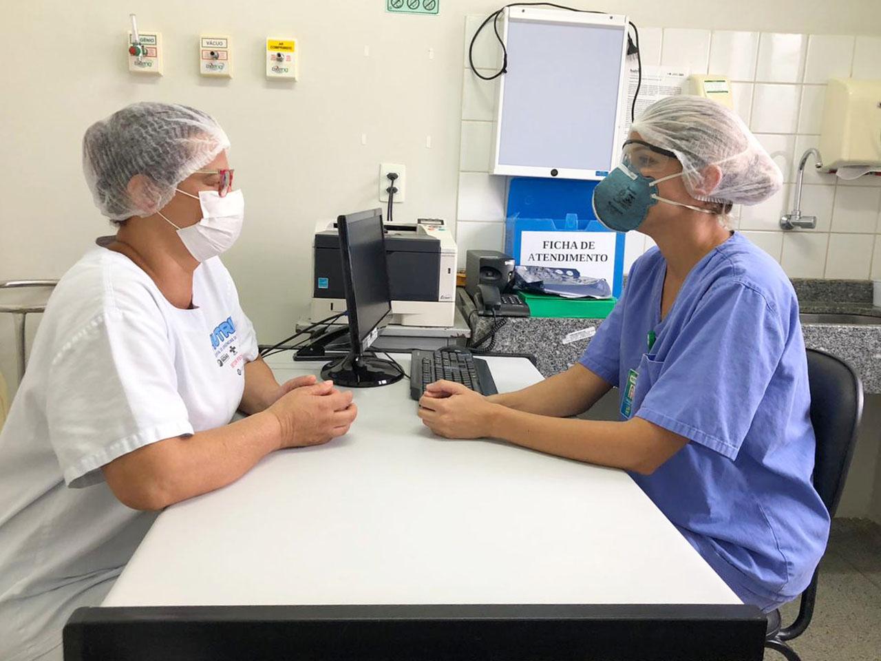 Hospital de Urgências de Trindade oferece apoio psicológico aos profissionais de saúde