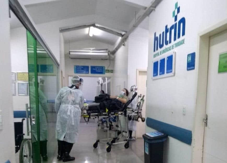 Primeira paciente da UTI Hutrin