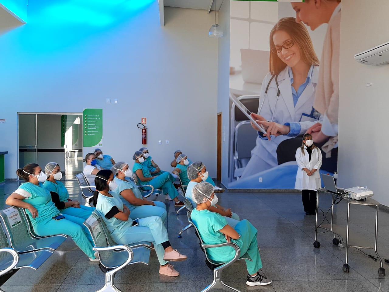 Profissionais de saúde se destacam no Hospital Regional de Luziânia