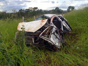 Acidente de carro que afastou Dr. Lucas Manrique - Foto: Divulgação.