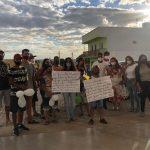Filhos e netos de Zulmira na saída do HRL - Foto: Divulgação