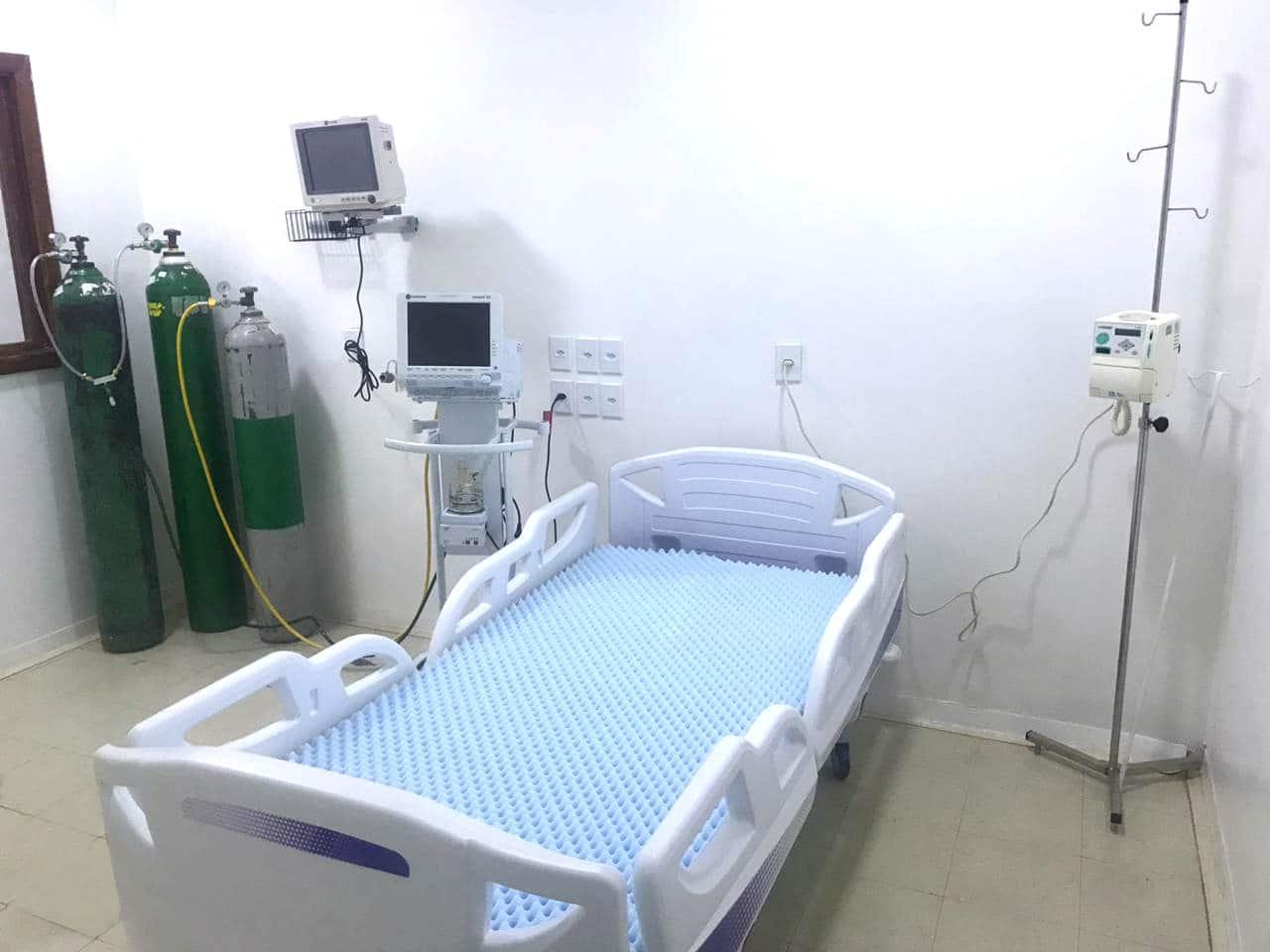 Hospital Regional de Formosa inaugura leitos de UTI