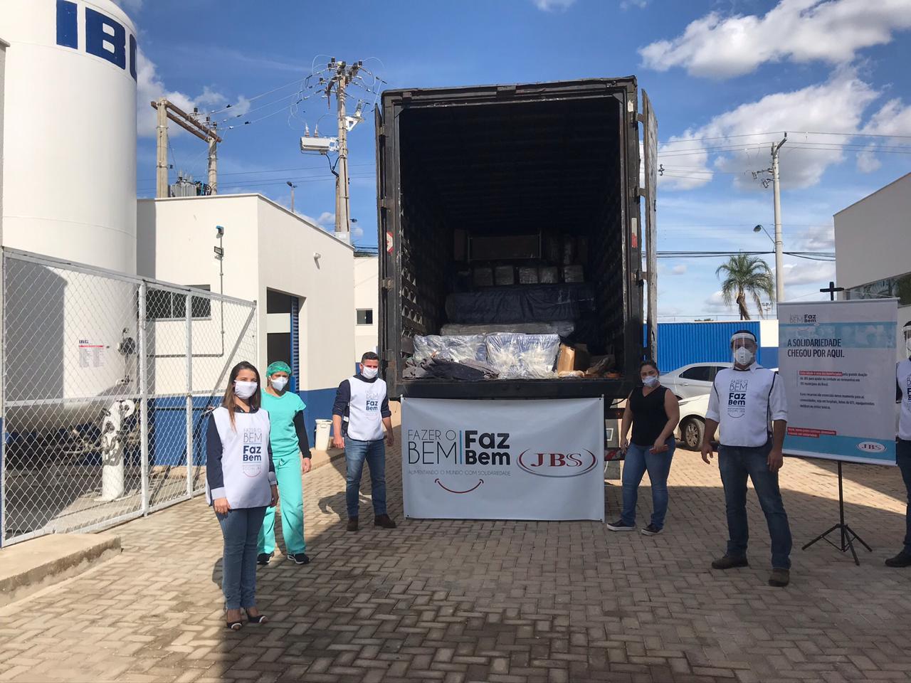 Hospital Regional de Luziânia recebe doação de camas hospitalares