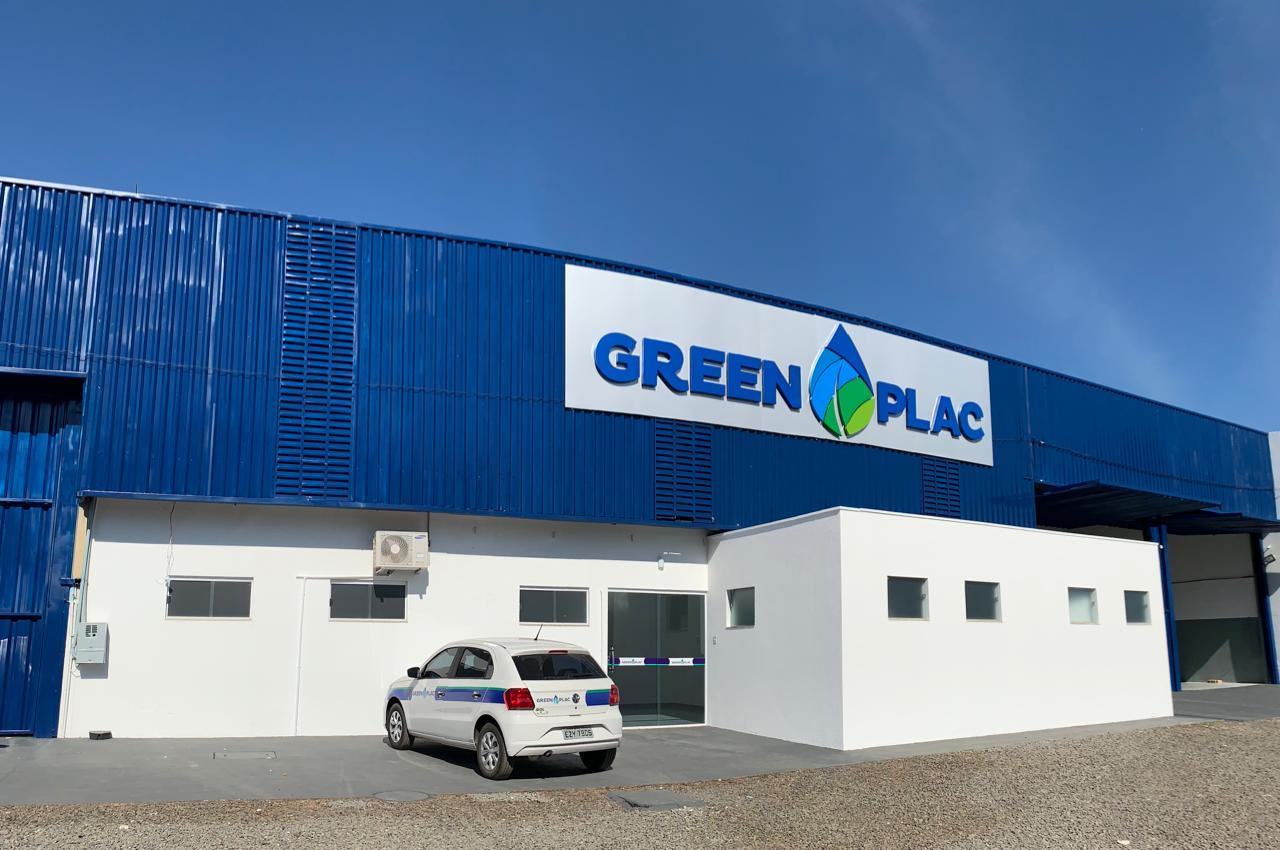 Centro de distribuição da Greenplac, de José Roberto Colnaghi, em Mirassol (SP).