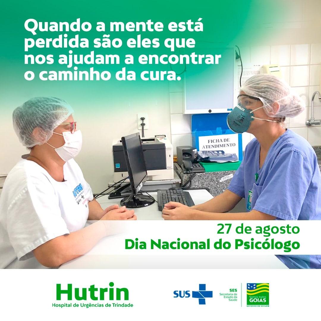 Hutrin comemora o Dia do Psicólogo.