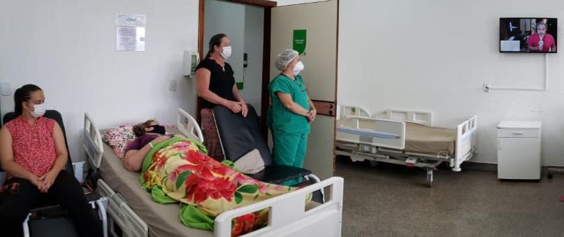 A utilização da música na humanização do ambiente hospitalar tem sido de fundamental importância para os pacientes do Hospital