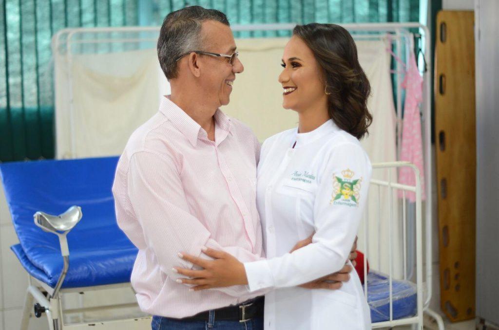 Arciani Martins, enfermeira do HRSLMB