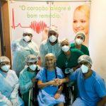 Paciente do Hospital Regional de São Luís de Montes Belos tem alta