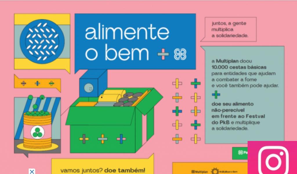 Vander Aloísio Giordano, da Multiplan: doação de alimentos na pandemia