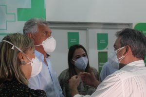 Ronaldo Caiado no Hospital Regional de Formosa
