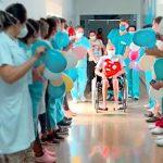 Paciente ficou 2 meses internado no HESLMB com Covid-19